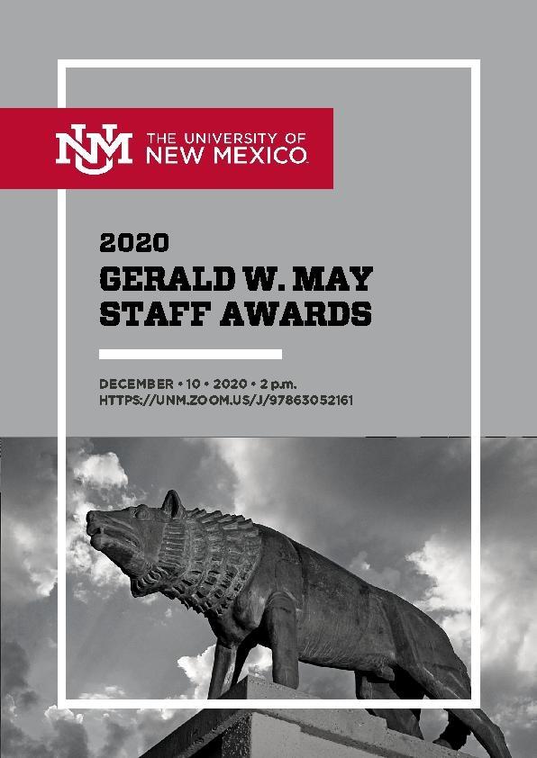 Gerald W May Program 2020