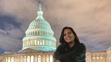 Udall thanks UNM senior for work during D.C. internship