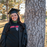 Graduate furthers education helping benefit fellow Lobos