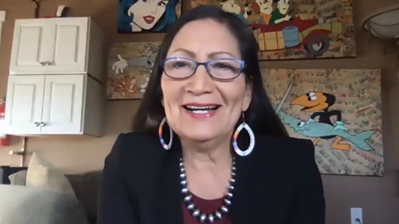 Deb Haaland will serve as the first Native American secretary of the interior