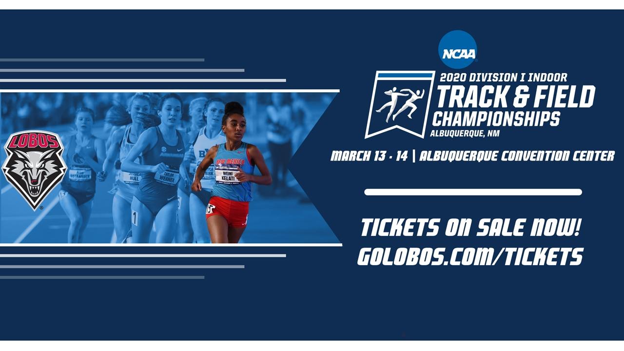 NCAA Indoor Track Graphic