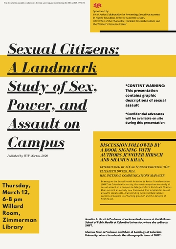 March 12 Sexual Citizens Willard Room 1