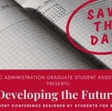 Developing the Future: free conference for grad students