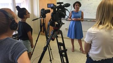 Advance interns video shoot