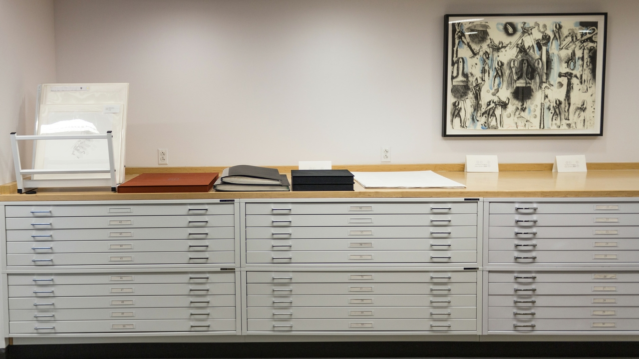 Tamarind gallery flat files