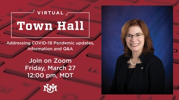 UNM President Garnett S. Stokes, leadership team host town hall