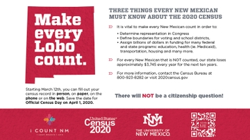 2020 Census: Make Every Lobo Count