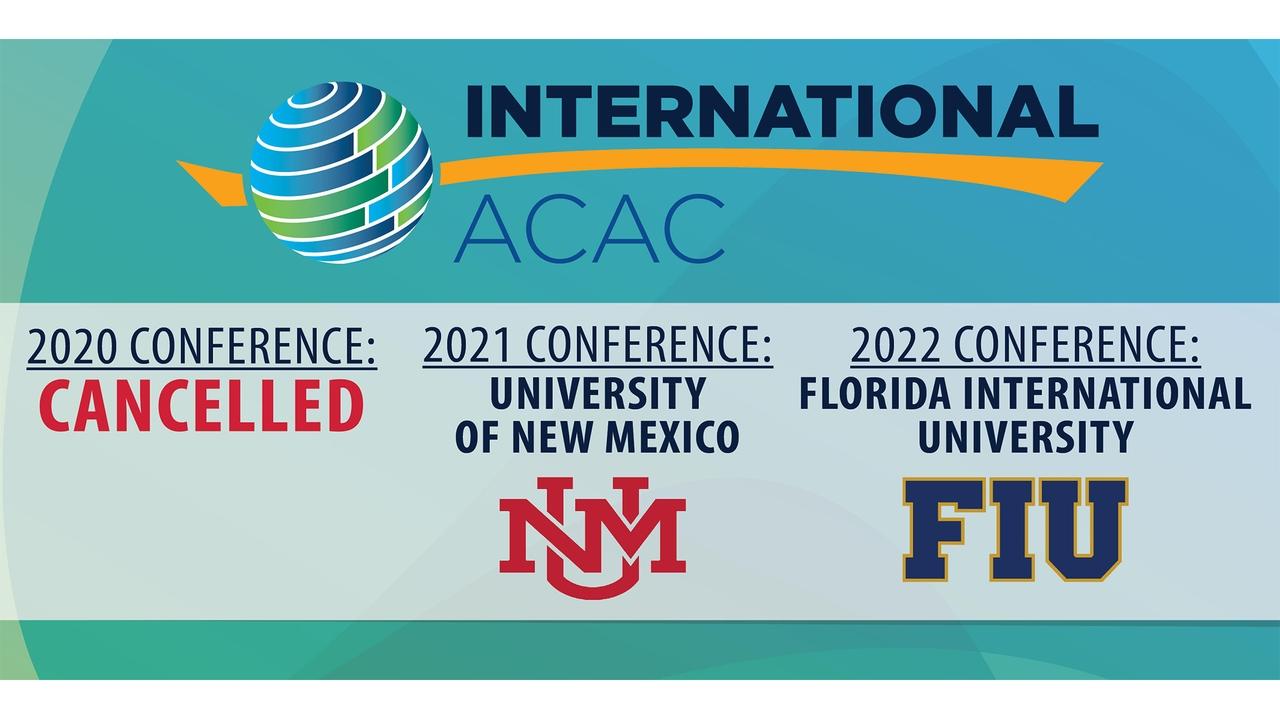 Annual International Acac Conference Canceled Amid Coronavirus Outbreak Unm Newsroom