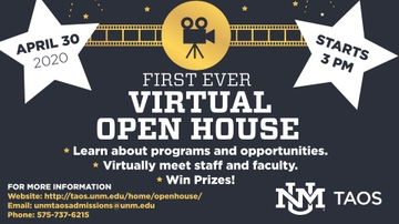UNM Taos creates virtual Open House for students