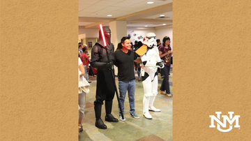 UNM takes Star Wars Day online for Lobos
