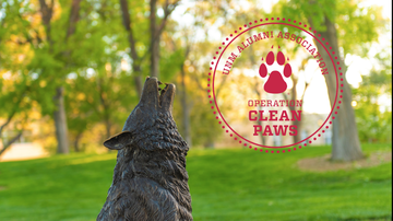 UNM Alumni Association kicks off Operation Clean Paws