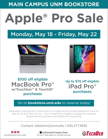 Apple Pro Sale Poster