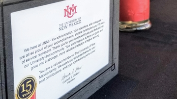 UNM recognizes outstanding, dedicated staff with annual service awards