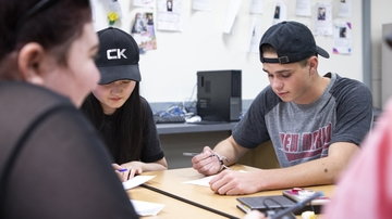 School of Engineering partners with NM high schools to teach engineering in the classroom