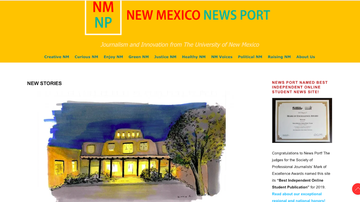 New Mexico News Port named 'Best Independent Online Student Publication'
