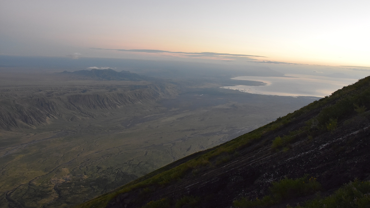 The East African Rift from Oldoinyo Lengai.