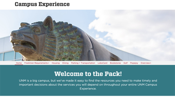 Institutional Support Services launches Campus Experience website
