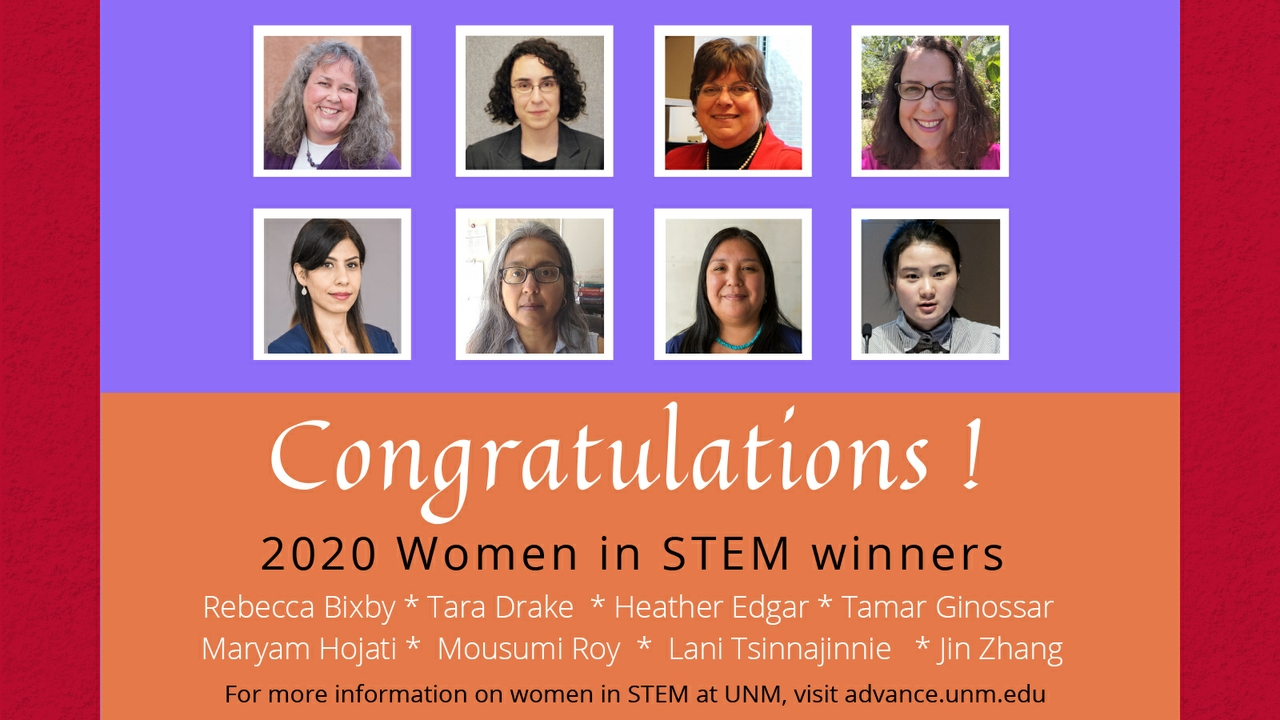 2020 Women in STEM winners