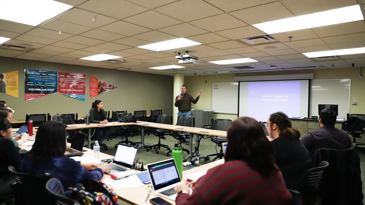 UNM Associate Professor Ryan Kelly
