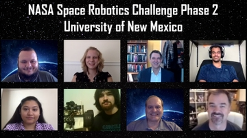 UNM computer scientists compete in NASA Space Robotics Challenge
