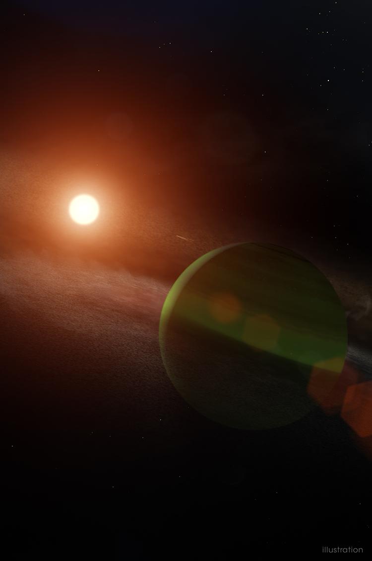 AU Mic - planet