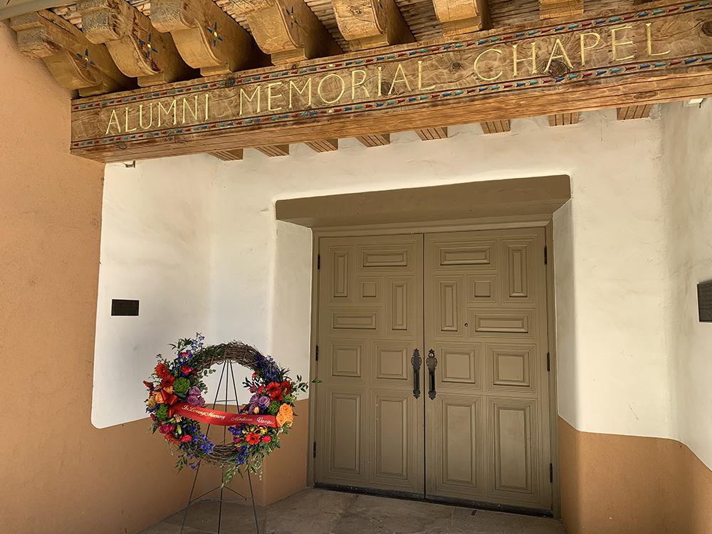 Alumni Chapel wreath