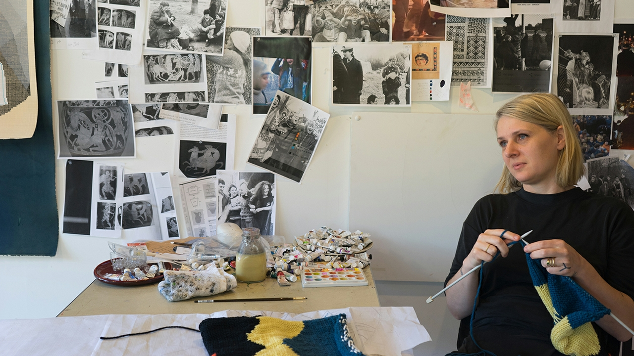 Artist-in-Residence Ellen Lesperance