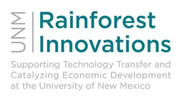 UNM Rainforest Innovations logo