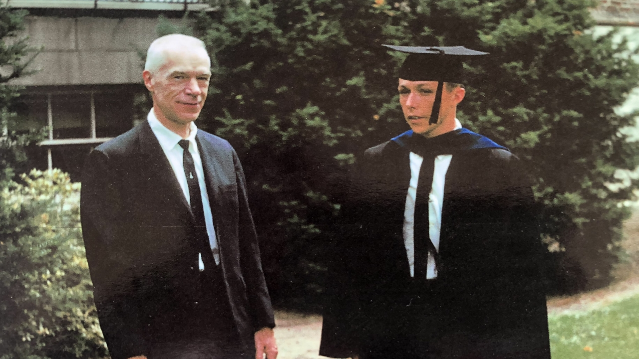 Whitten's Ph.D Graduation, 1963