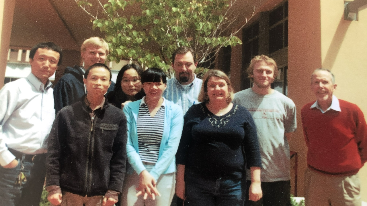 Research group at UNM