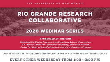 Rio Grande Research Collaborative announces webinar series