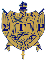 Sigma Gamma Rho shield