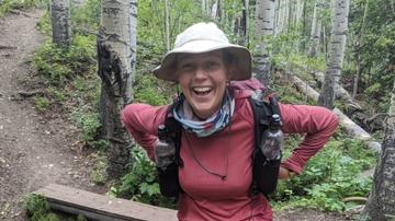 UNM graduate student sets Colorado Trail hiking record