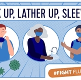 Mask up, lather up, sleeve up: It's time to get your flu shot