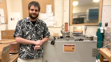 UNM student recognized by DOE's Science Graduate Student Research Program