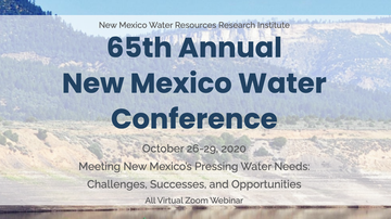 New Mexico Water Conference happening online