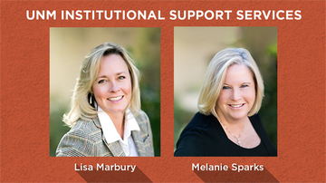 UNM Institutional Support Services announces new assistant vice presidents