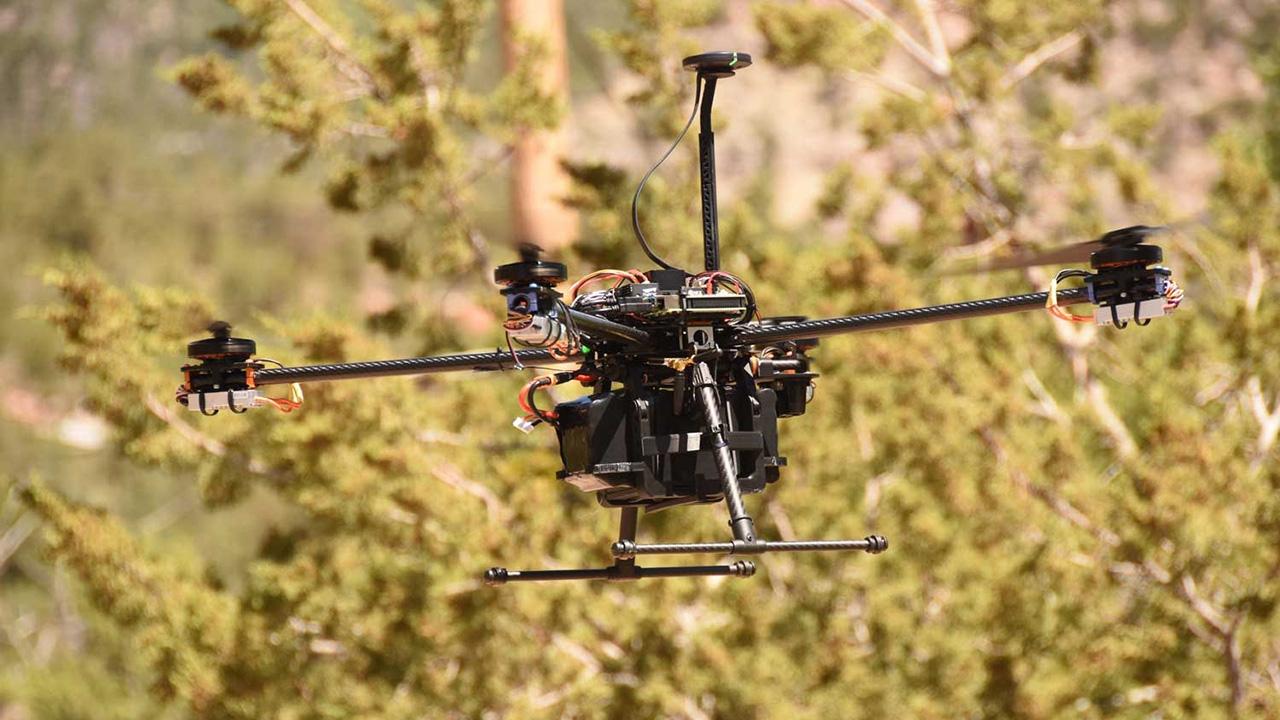 A drone, designed