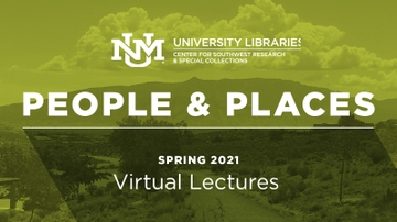 CSWR announces Spring 2021 People and Places Lectures schedule