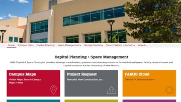 UNM Capital and Space Strategies rolls out new website