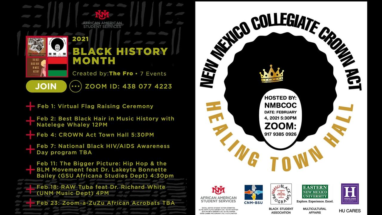 AASS Black History Month playlist