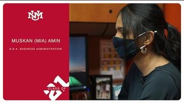 Muskan (Mia) Amin | Class of 2021