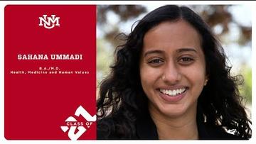 Sahana Ummadi | Class of 2021