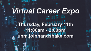 UNM Career EXPO Fair to be held virtually
