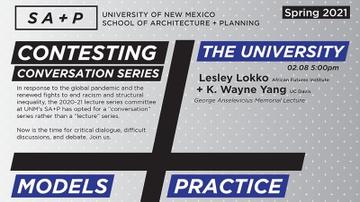 UNM SA+P hosts Contesting Conversation series