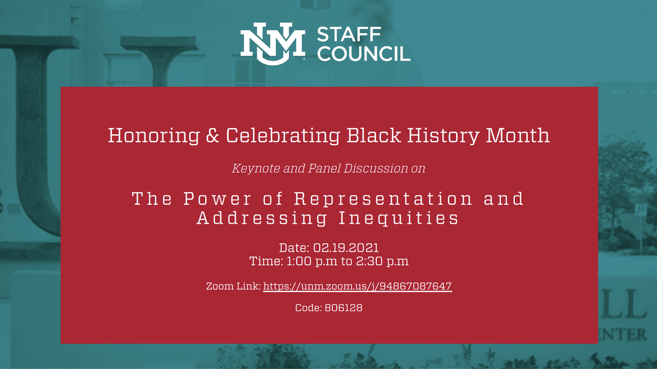 Honoring _ Celebrating Black History Month- The Power of Representation and Addressing Inequities