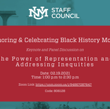 Honoring & Celebrating Black History Month: The Power of Representation and Addressing Inequities
