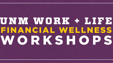 Financial Wellness Workshop: Tax filing and planning tips