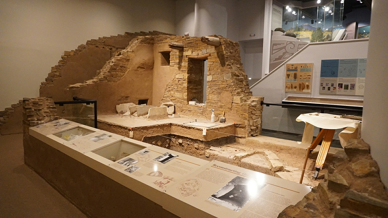 Archaeology dig replica