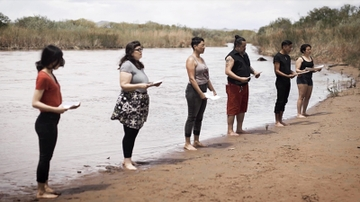 Artists to discuss Rio Grande installation